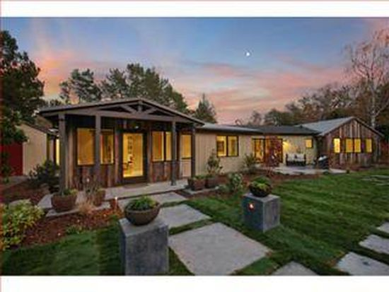 55 Stonegate Rd, Portola Valley, CA 94028