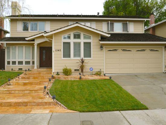 1340 Elwood Dr, Los Gatos, CA 95032