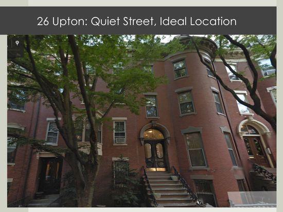 26 Upton St UNIT 3, Boston, MA 02118