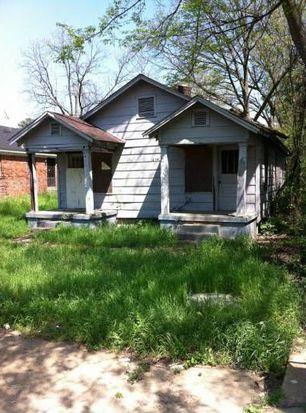 1654 Riverside Blvd, Memphis, TN 38109