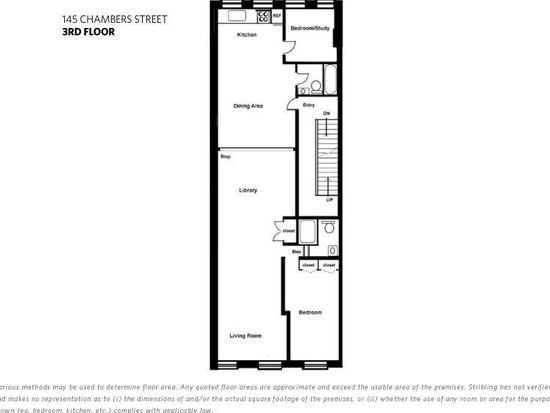 145 Chambers St APT 3, New York, NY 10007