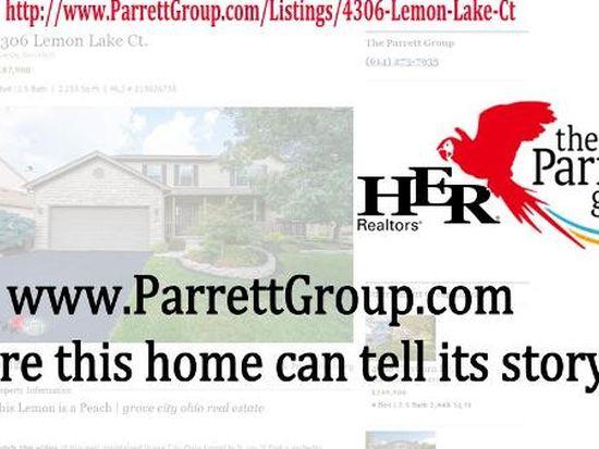 4306 Lemon Lake Ct, Grove City, OH 43123