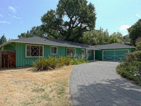 3701 Oak Dr, Menlo Park, CA 94025
