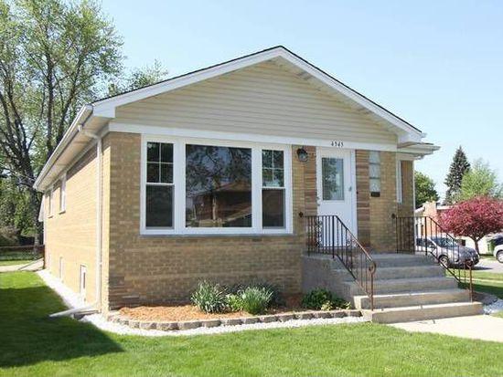 4545 W 101st St, Oak Lawn, IL 60453