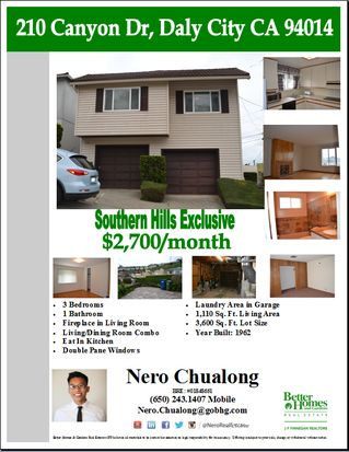 210 Canyon Dr, Daly City, CA 94014