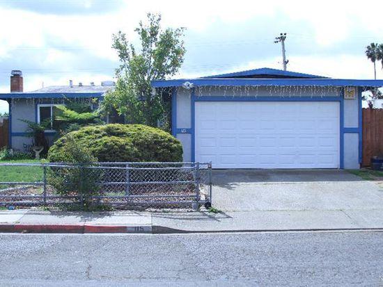 115 Dillon Dr, Vallejo, CA 94589