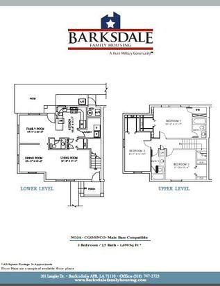 504 Vandenberg Ave, Barksdale Afb, LA 71110