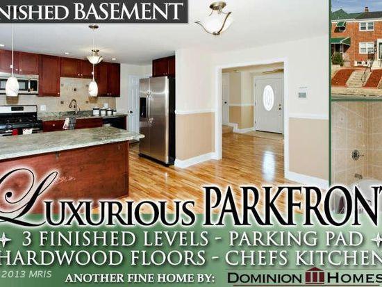 4524 Parkside Dr, Baltimore, MD 21206