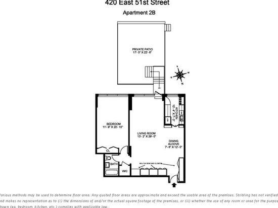 420 E 51st St STE 2B, New York, NY 10022