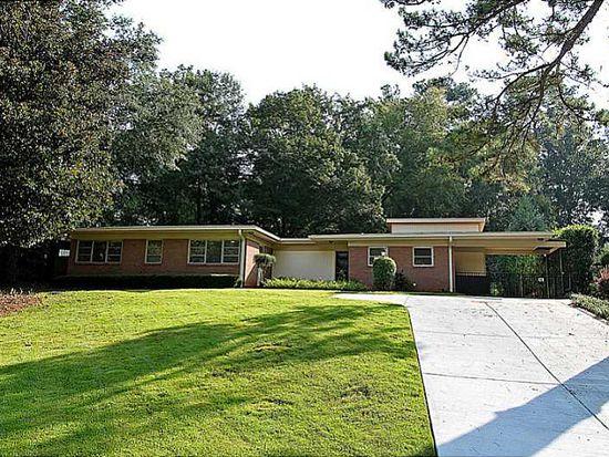 2645 Margaret Mitchell Dr NW, Atlanta, GA 30327