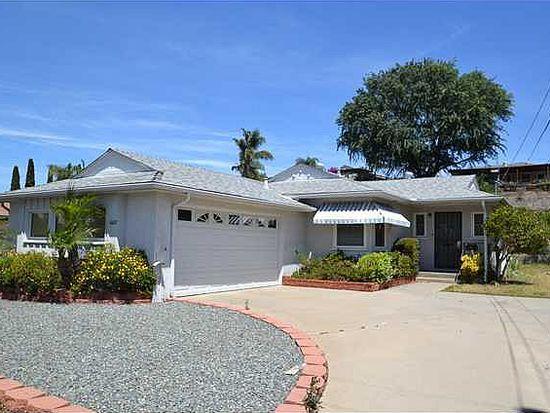 6627 Burgundy St, San Diego, CA 92120