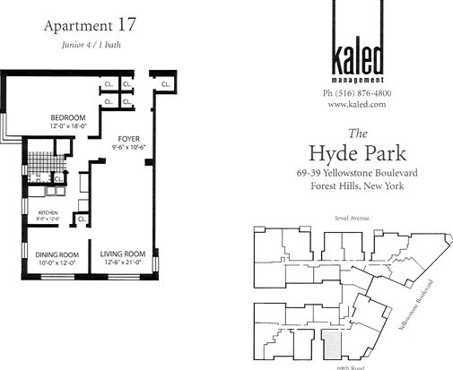 6939 Yellowstone Blvd APT 517, Forest Hills, NY 11375