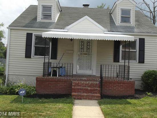 5425 Gradin Ave, Baltimore, MD 21207