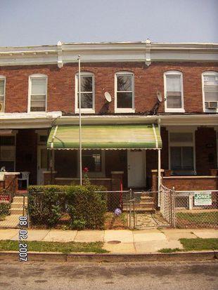 1123 Ashburton St, Baltimore, MD 21216