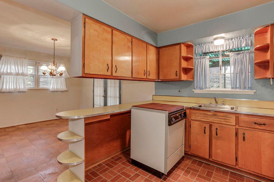 terracotta kitchen floor transitional - photo #3