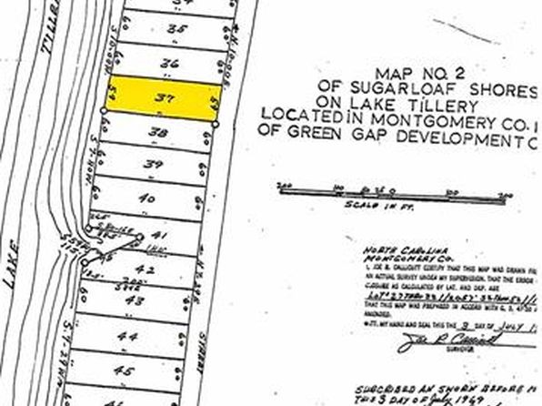 null bed null bath Vacant Land at  Lot 37 Sugar Loaf Dr Troy, NC, 27371 is for sale at 50k - google static map