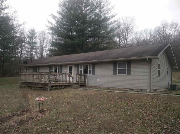 3 bed 1.5 bath Single Family at 4363 Peggy Hollow Rd Shoals, IN, 47581 is for sale at 158k - google static map