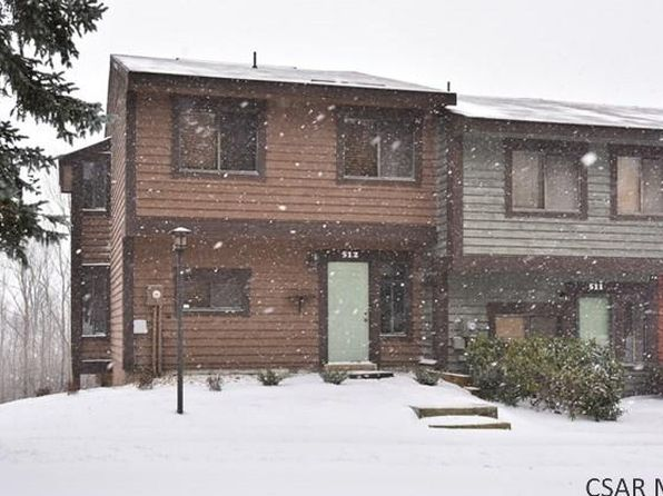 3 bed 2 bath Townhouse at 512 Kooser Hidden Valley, PA, 15502 is for sale at 155k - 1 of 25