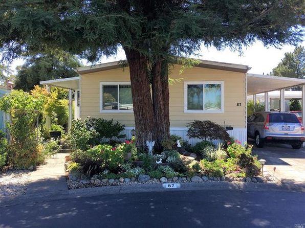 2 bed 2 bath Mobile / Manufactured at 87 Saint George Mews Sonoma, CA, 95476 is for sale at 187k - 1 of 12
