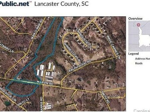 null bed null bath Vacant Land at 3050 Marvin Rd Indian Land, SC, 29707 is for sale at 649k - google static map