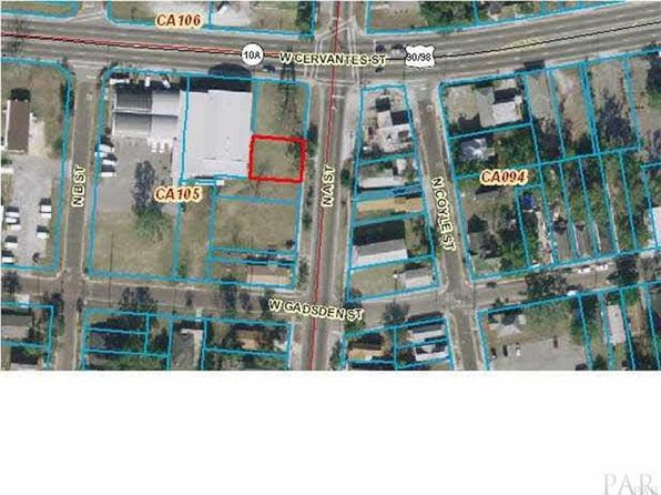 null bed null bath Vacant Land at 743 N A St Pensacola, FL, 32501 is for sale at 45k - google static map