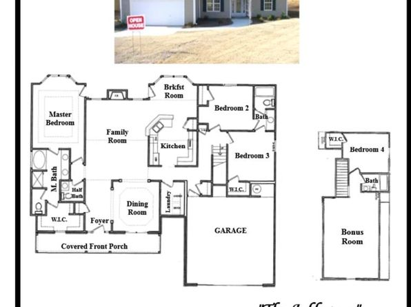 4 bed 3.5 bath Single Family at 2109 Trace Dr Monroe, GA, 30655 is for sale at 219k - google static map