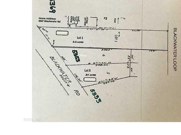 null bed null bath Vacant Land at  Blackwater Rd Virginia Beach, VA, 23457 is for sale at 110k - 1 of 2