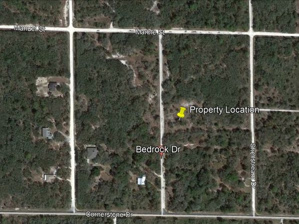 null bed null bath Vacant Land at  Bedrock Dr Ridge Manor, FL, 33523 is for sale at 5k - 1 of 5