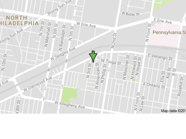 3 bed 1 bath Townhouse at 3454 N Bodine St Philadelphia, PA, 19140 is for sale at 35k - google static map