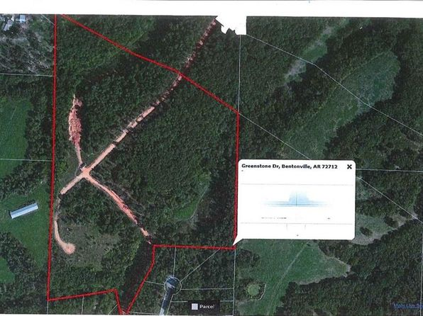 null bed null bath Vacant Land at 46 Ac Greenstone Dr Bentonville, AR, 72712 is for sale at 400k - google static map