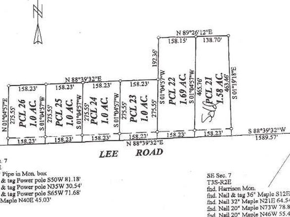 null bed null bath Vacant Land at 25 Lee Rd Jackson, MI, 49201 is for sale at 19k - google static map