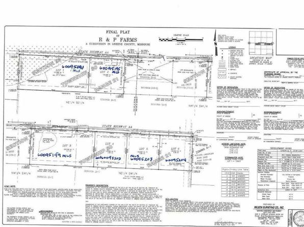 null bed null bath Vacant Land at 0 N State Hwy Aa Springfield, MO, 65803 is for sale at 49k - google static map