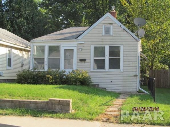 2 bed 1 bath Single Family at 1410 E Paris Ave Peoria, IL, 61603 is for sale at 36k - 1 of 13