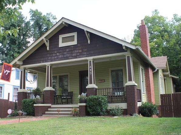 3 bed 2.5 bath Single Family at 413 W PARK AVE CHARLOTTE, NC, 28203 is for sale at 480k - 1 of 27