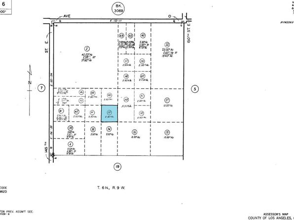 null bed null bath Vacant Land at 0 0 Vac/Vic Avenue 06/147 Palmdale, CA, 93591 is for sale at 25k - google static map