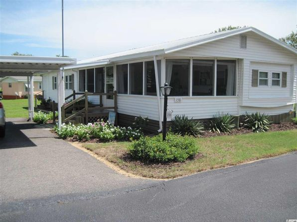 2 bed 2 bath Mobile / Manufactured at 158 Burr Cir Murrells Inlet, SC, 29576 is for sale at 51k - 1 of 25