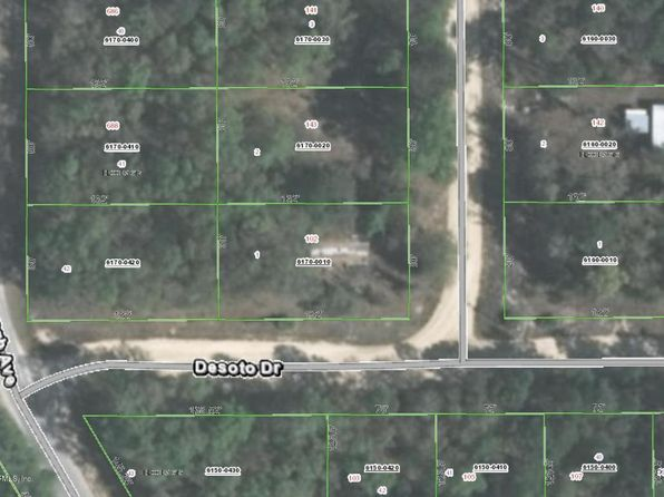 null bed null bath Vacant Land at 102 Desoto Dr Florahome, FL, 32140 is for sale at 8k - 1 of 3