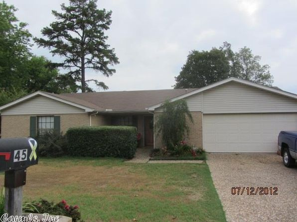 3 bed 2 bath Single Family at 45 Hightrail Dr Maumelle, AR, 72113 is for sale at 149k - 1 of 12