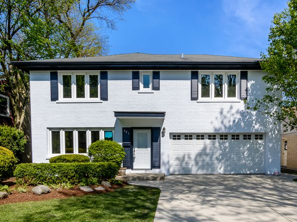4 bed 4 bath Single Family at 721 S Ashland Ave La Grange, IL, 60525 is for sale at 699k - google static map