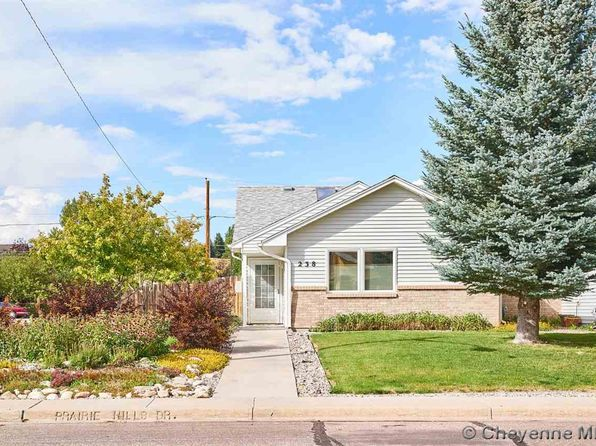 3 bed 2 bath Single Family at 238 Prairie Hills Dr Cheyenne, WY, 82009 is for sale at 239k - 1 of 31