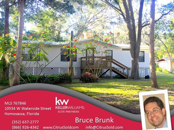 3 bed 2 bath Mobile / Manufactured at 10534 W Waterside St Homosassa, FL, 34448 is for sale at 85k - 1 of 48