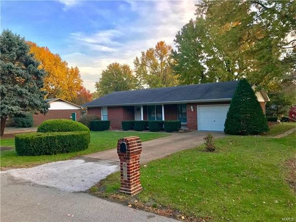 2 bed 2 bath Single Family at 406 Hillcrest Dr Waterloo, IL, 62298 is for sale at 167k - google static map