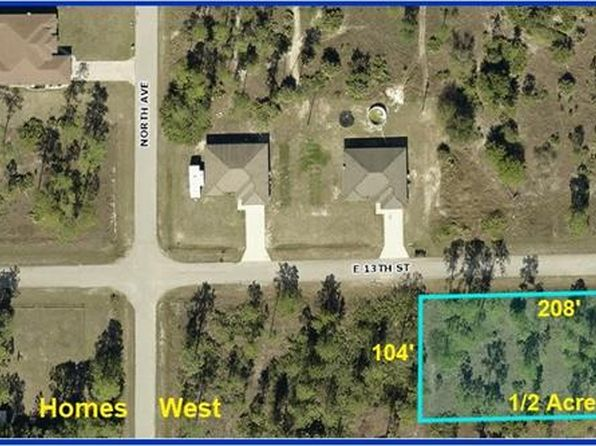 null bed null bath Vacant Land at 1225 Thompson Ave Lehigh Acres, FL, 33972 is for sale at 12k - 1 of 2