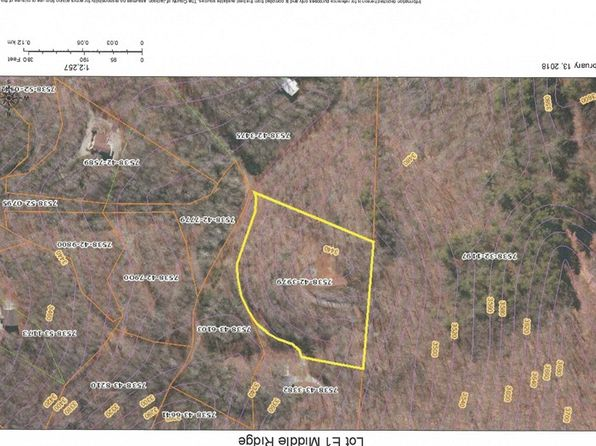 null bed null bath Vacant Land at  Lot E1 Middle Ridge Rd Sylva, NC, 28779 is for sale at 49k - google static map