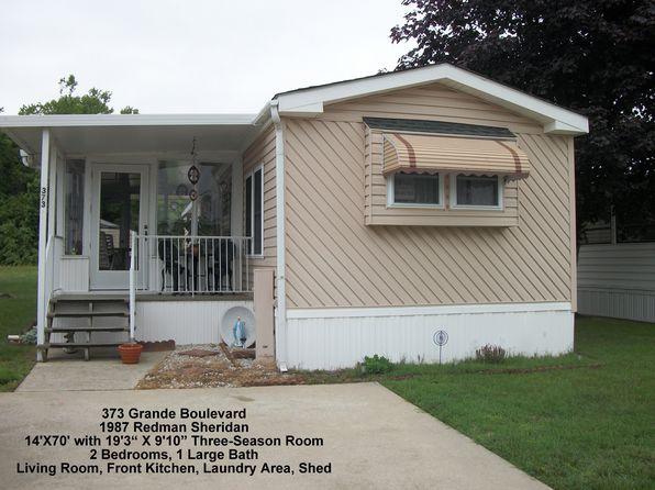 2 bed 1 bath Mobile / Manufactured at 373 Grande Blvd Rio Grande, NJ, 08242 is for sale at 58k - 1 of 16