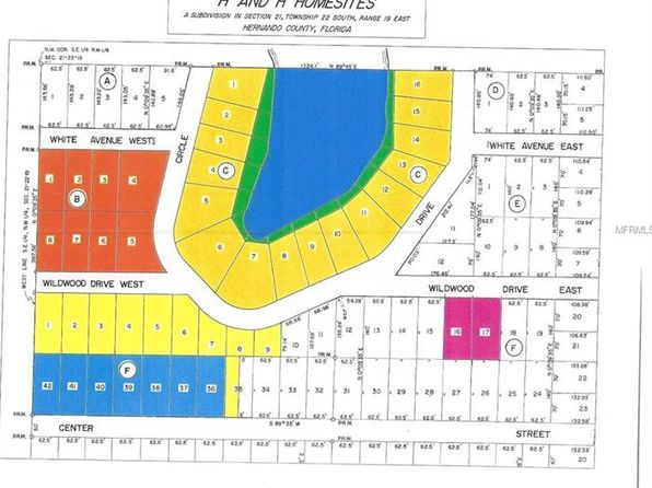 null bed null bath Vacant Land at  WHITNEY AVE BROOKSVILLE, FL, 34601 is for sale at 11k - 1 of 2
