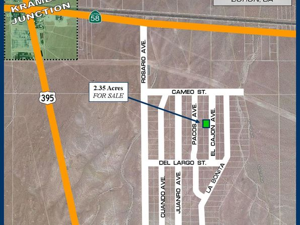 null bed null bath Vacant Land at EL Cajon Ave Kramer Junction, CA, 92301 is for sale at 17k - 1 of 11