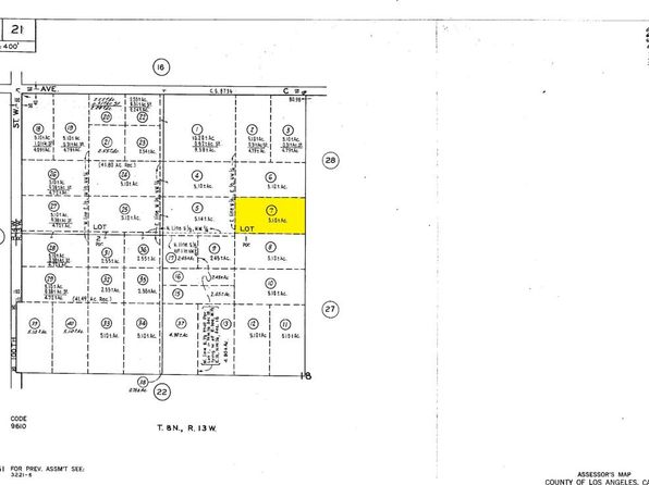 null bed null bath Vacant Land at  Vic Avenue C4/95 Stw Antelope Acres, CA, 93536 is for sale at 21k - google static map