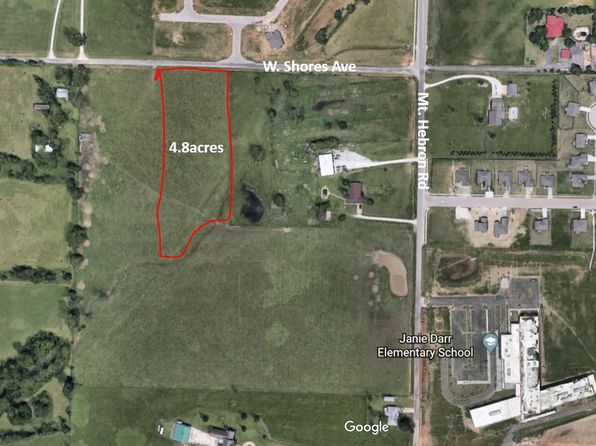 null bed null bath Vacant Land at 4.8 Acres W. Shores Ave Rogers, AR, 72758 is for sale at 284k - google static map