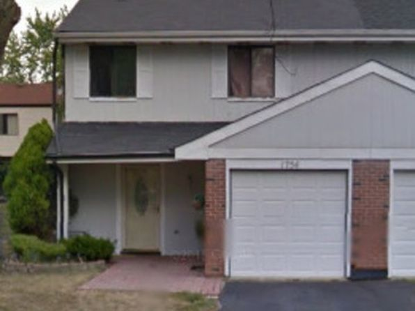 3 bed 2 bath Condo at 1754 Whitney Dr Hanover Park, IL, 60133 is for sale at 115k - google static map